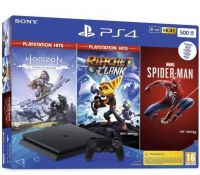PLAYSTATION 4 CONSOLE 500GB/CUH-2216A/HZD/R&C/SM SONY