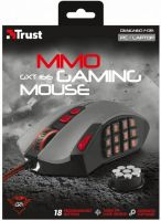 Trust Gaming GXT 166 MMO Gaming Laser Mouse